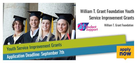 william t grant foundation youth service improvement