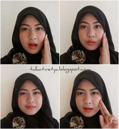 Lipstick Inez Glow Matte ootd of the day and motd makeup of the day day 1 talkative tya
