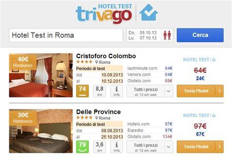 trivago hotel test trivago hotel test il viaggiatore sempre pi 249 protagonista