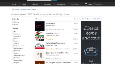 Groupon Hiring Manager Groupon To Go Is A New Food Delivery Service