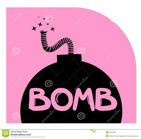 Pink Bomb by Pink Bomb Royalty Free Stock Photos Image 29372048