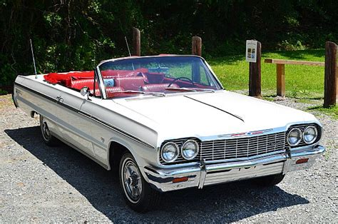 64 impala white 1964 chevrolet impala ss convertible for sale