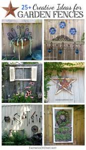Creative Garden Fence Ideas Wooden Fence Ideas Garden Woodworking Projects Amp Plans