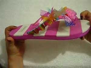 como decorar unas sandalias con liston diy decoraci 243 n de sandalias con cinta paso a paso