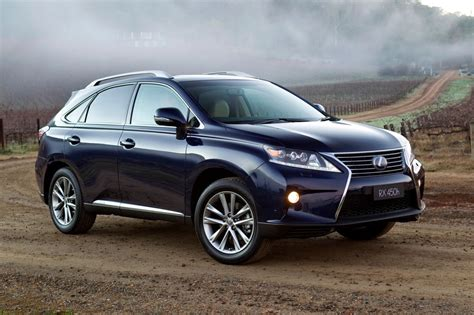 lexus australia lexus rx range update launched in australia photos 1 of 13