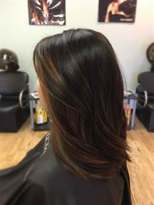 what color highlights for black hair 17 best ideas about hair on balayage