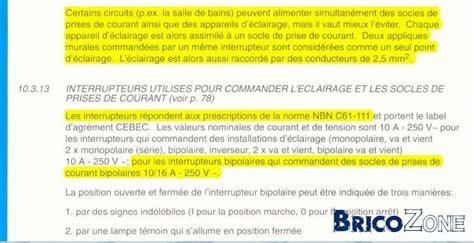 Combien De Prise Par Disjoncteur 5457 by Nombre De Prises Par Circuit Command 233 Es Par Interrupteur