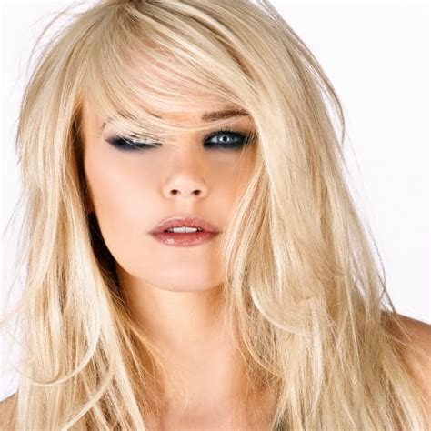 show side fring on long hair for older woman 30 frizura za žene u tridesetima
