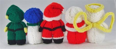 free character knitting patterns mini knitted characters knitting pattern