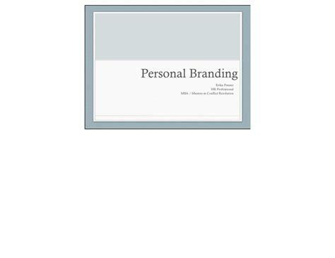 Personal Branding Mba by Personal Branding