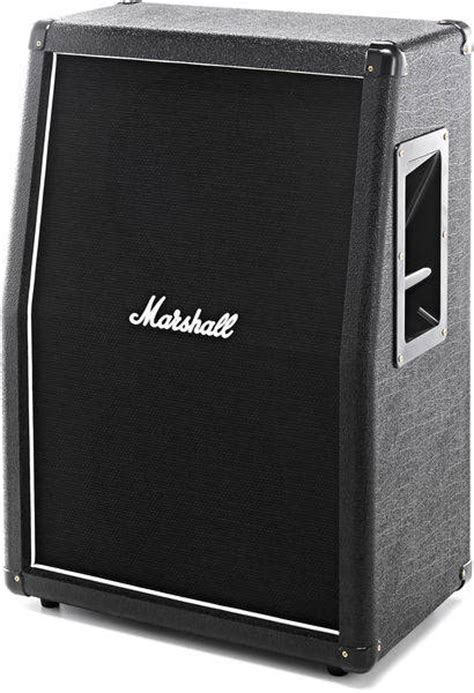 marshall 2x12 vertical slant guitar cabinet marshall mx212a 2x12 160w slant extension cab
