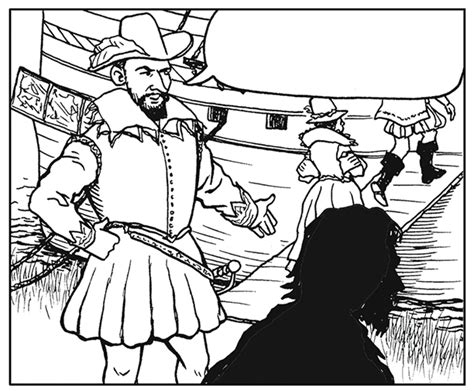 Jamestown Colony Coloring Pages Sketch Coloring Page Jamestown Coloring Pages