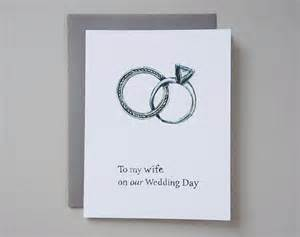 to my on our wedding day card by lanasshop on etsy