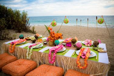 island themed decorations idea host a tropical book club for the bungalow