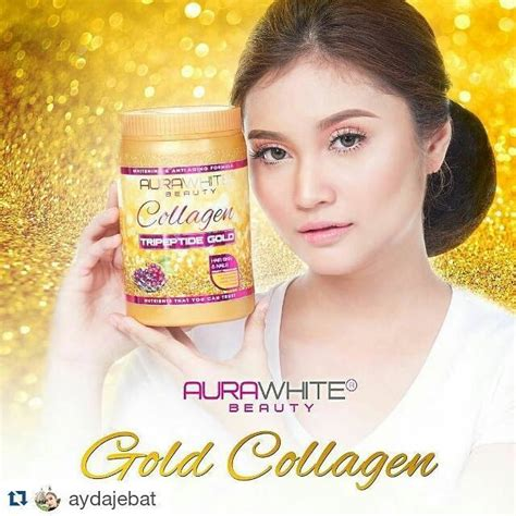 Aura White Plus Collagen aura white collagen tripeptide gold other