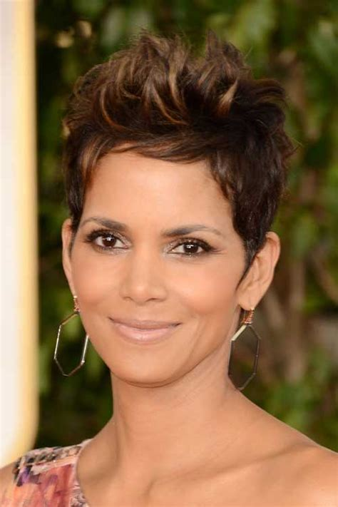 how to get y pixie like halle berrys 20 short spikey hair short hairstyles haircuts 2017