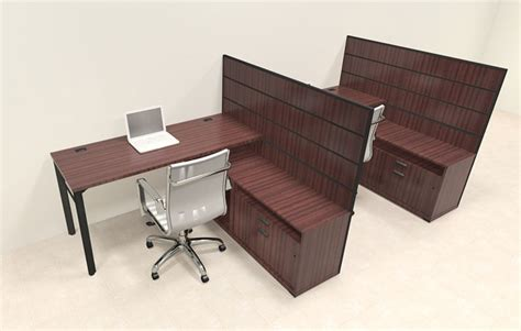 2 Person L Shaped Desk Two Person Modern L Shaped Workstation Office Desk Set Ba S2 Ebay