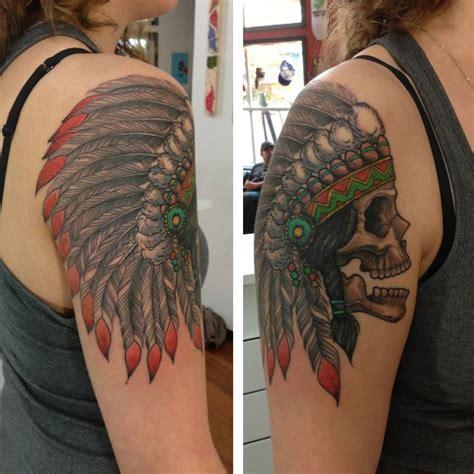 headdress tattoo designs skull and headdress search tattoos