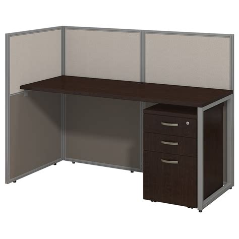 Office Cubicle Desk 24x60 Small Office Furniture With Storage