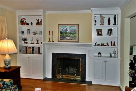 fireplaces with bookshelves fireplace surrounds with bookcases two fireplaces that