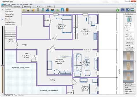 Floor Plan 3d Software Free Download | free floor plan software mac