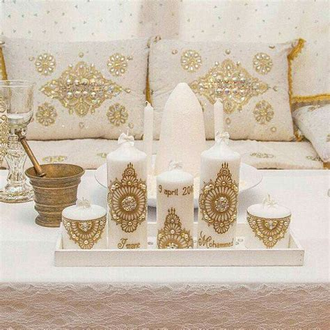 Decoration Henne by Wedding Candle Design Candles Designs