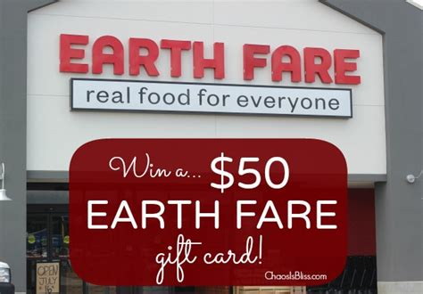 Earth Fare Gift Card - giveaway reminder earth fare 50 gift card ends 7 31
