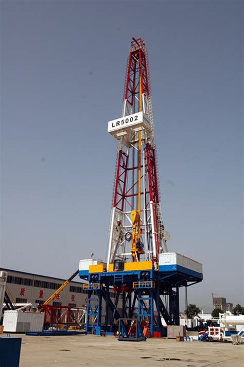 drilling rigs tidal petroleum oil land drilling rig in shaanxi xian exporter and