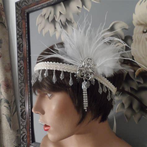 gatsby themed hairpieces great gatsby headpiece headband fascinator hair accessories
