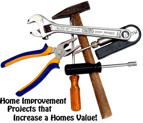 home improvement projects that increase a homes value