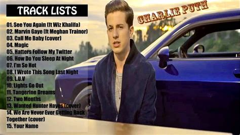 charlie puth greatest hits 17 best images about charlie puth on pinterest capri sun