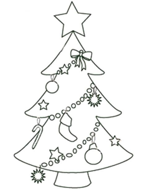 printable xmas tree big christmas tree coloring pages coloring home