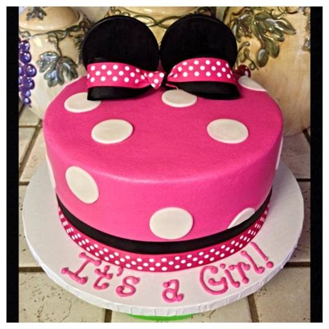 Minnie Mouse Baby Shower Cake by Minnie Mouse Baby Shower Cake Baby Baby Baby