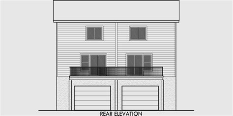 7000 Sq Ft House Plans by House Plans Rear Garage House Plans