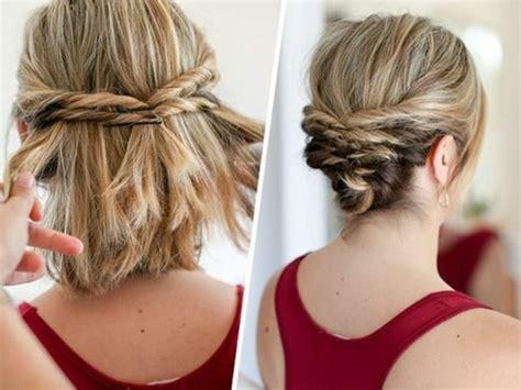 Schnelle Frisuren by 1001 Ideen Wie Sie Effektvolle Hochsteckfrisuren Selber