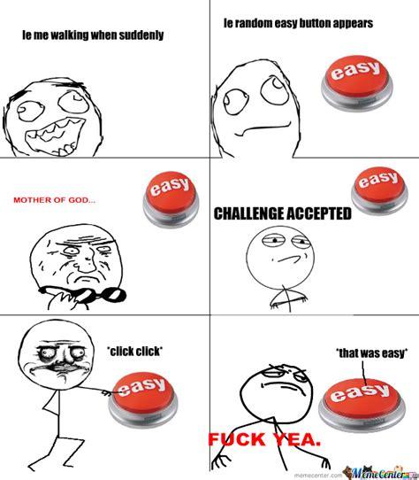 Button Meme - easy button by jornax meme center