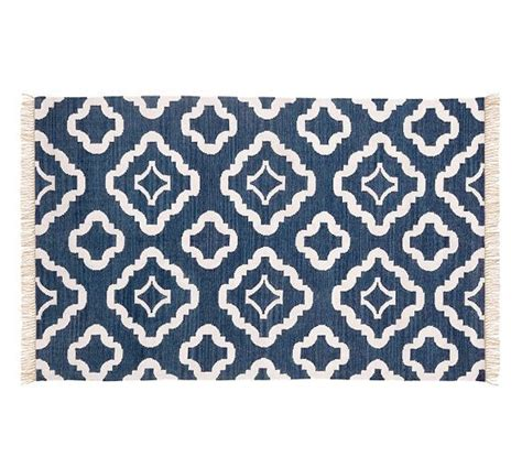 pottery barn rug runners indoor outdoor rug navy blue pottery barn available in 2 x 3 and 2 5 x 9 runner home