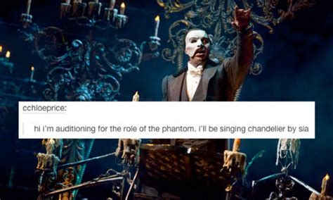 Phantom Of The Opera Meme - phantom of the opera inappropriate audition songs know