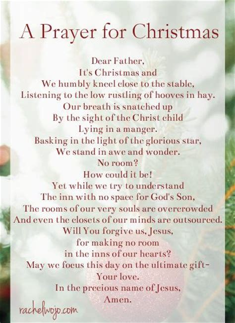 best 25 prayer for christmas ideas on pinterest