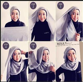 tutorial hijab paris paling mudah tutorial hijab paris simpel dan mudah