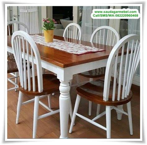 Meja Makan Bulat 6 Kursi kursi makan jati jepara set meja makan minimalsi jepara