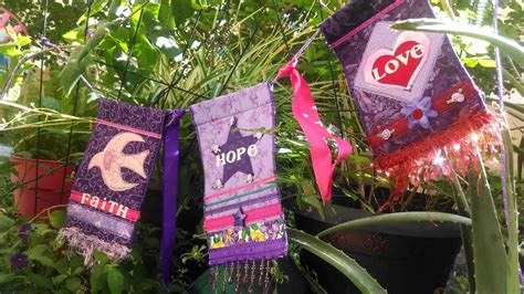 Quilted Prayer Flags by The Prayer Flag Project A Beautiful Collection