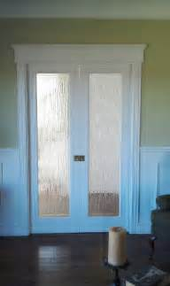 pantry door with rain glass pantry
