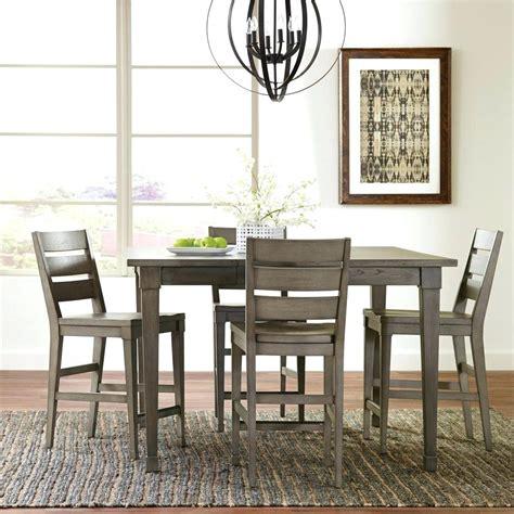 gray wash banks pedestal extending dining tables