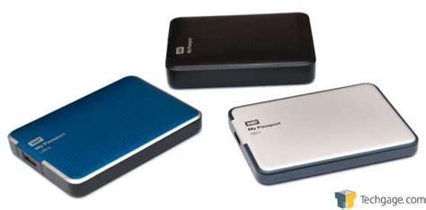 Wd My Passport Air Ultra Slim All Metal Usb 3 1tb Black T1780 wd my passport slim 1tb portable drive review techgage
