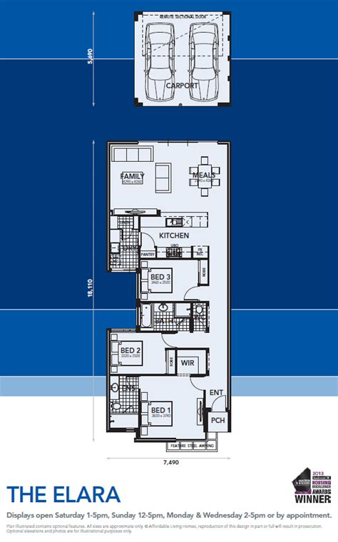 Elara 4 Bedroom Floor Plan The Elara Affordable Living Homes