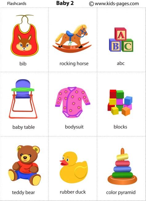 printable flashcards for babies baby 2 flashcard