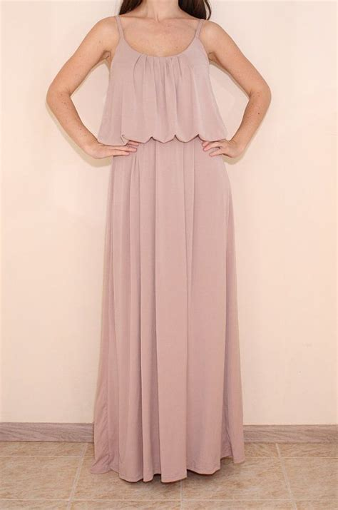 blush colored maxi dress blush pink dress maxi dress spaghetti by