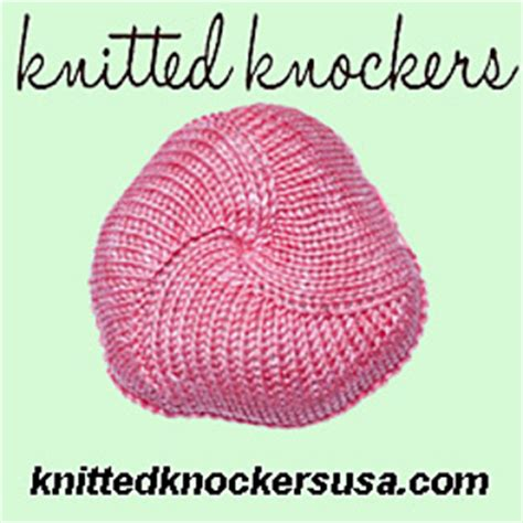 knitted knockers pattern ravelry knitted knockers flat on two needles pattern by