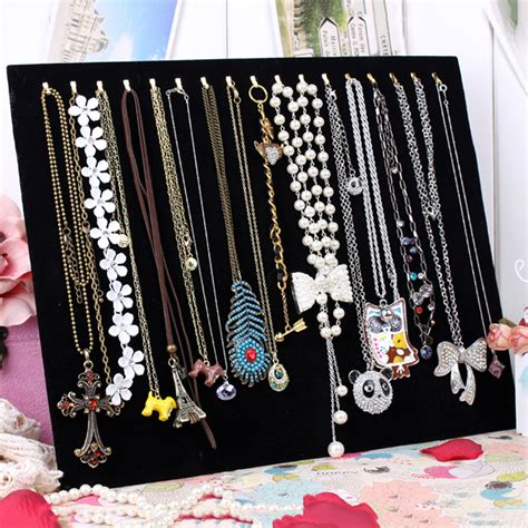 Ring Earring Necklace Watch DIsplay Stand Holder Jewelry Show Rack Gift 10Types   eBay